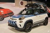 2015 Fiat 500L At The Orange County International Auto Show