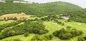 Hillside Golf Course In Tropics