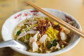 Noodles Soup With Pork And Shrimp