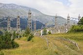 Electric Station In The Mountains