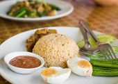 Fried Rice With Pound Chili And Shrimp Paste