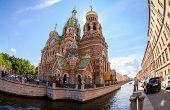 Saint Petersburg, Russia - August 9, 2014: The Church Of The Savior On Spilled Blood Is One Of The M