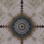 Bizarre Fractal Structure Polychrome