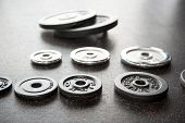 Set Of Barbell Weight Plates