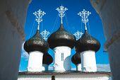 Church steeples Russia