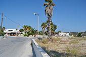 Street In Kefalos