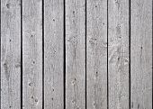 Texture Of Old Grey Wooden Planks