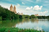 Central Park Spring in midtown Manhattan New York City
