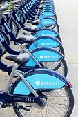 Barclays Cycle Hire in London