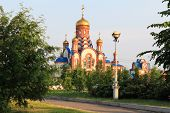 Temple of St. Seraphim of Sarov. Zelenogorsk. Krasnoyarsk Territory