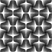 Design Seamless Striped Geometric Pattern