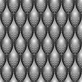 Design Seamless Monochrome Ellipse Geometric Lines Pattern