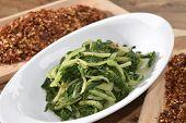 stock photo of chicory  - vegetarian diet - JPG