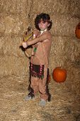 LOS ANGELES - OCT 4:  August Maturo at the RISE of the Jack O'Lanterns at Descanso Gardens on October 4, 2014 in La Canada Flintridge, CA
