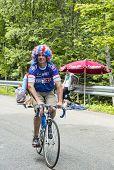 Funny Amateur Cyclist During Le Tour De France