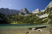 Dragonkopf mountain and Seebensee lake