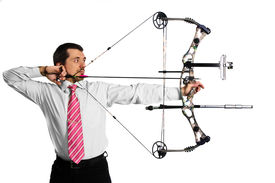 picture of bow arrow  - bow - JPG