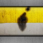 background yellow paint texture grunge old metal