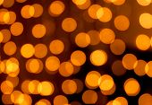 picture of homogeneous  - golden Christmas lights abstract homogeneous background art - JPG