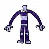 cartoon robot body