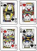 Four Queens. Original design