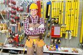 Portrait Of Construction Worker
