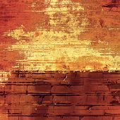 Old designed texture as abstract grunge background. With different color patterns: yellow (beige); brown; red (orange)