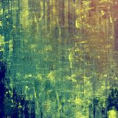 Vintage textured background. With different color patterns: yellow (beige); brown; green; blue