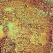 Vintage texture for background. With different color patterns: yellow (beige); brown; cyan; purple (violet)