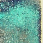 Old retro vintage texture. With different color patterns: gray; blue; cyan
