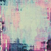 Old background with delicate abstract texture. With different color patterns: blue; cyan; purple (violet); pink