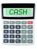 Calculator With Cash