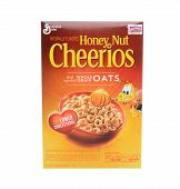 Honey Nut Cheerios Box