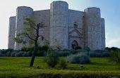 Castel del Monte Unesco heritage in the south of Italy Apulia
