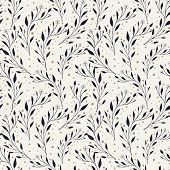 Elegant Seamless Pattern With Foliage