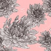 Graceful Floral Seamless Pattern