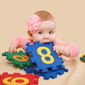 Smart Baby Nibbling Figures And Numbers