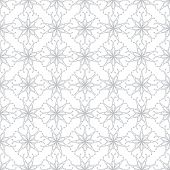 Abstract vector background Seamless floral grid texture