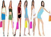Shoping Girls