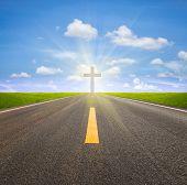 Road And Crucifix