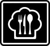 black cooking icon