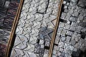 Metal Printing Press Symbols