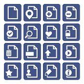 File Management Icons Set