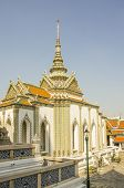 The Royal Palace complex in Bangkok, Thailand