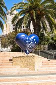 The Blue Heart in San Francisco