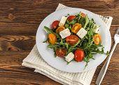 Light Salad Of Arugula