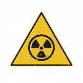 radiation sign vector illustration
