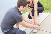 pic of sports injury  - Injury  - JPG