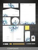 Creative corporate identity set for your business includes CD Cover, Business Card, Envelope, ID Card, Smartphone and Letterhead.