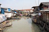 Slum In Jakarta